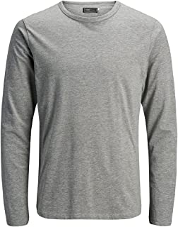 Jack & Jones Men's JJEBASIC O-NECK TEE L/S NOOS T-Shirt