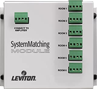 Leviton SGAMP System Matching Module (for Use with Non-Impedance Matched Volume Controls SGVST), White