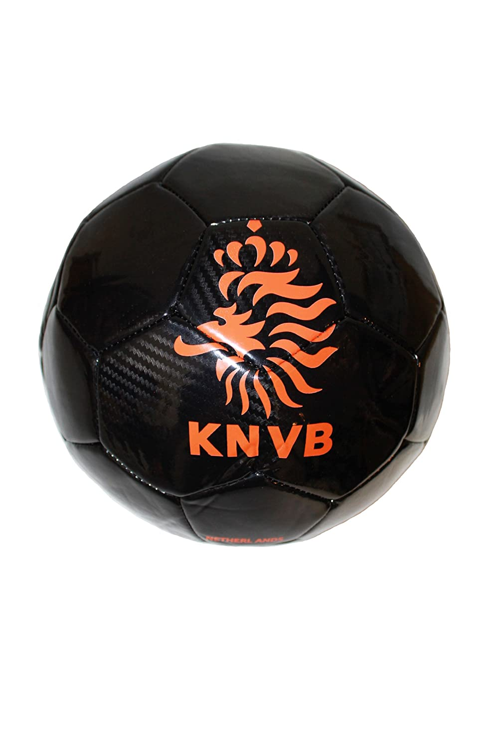 Netherlands Holland Black .. Orange KNVB Logo .. FIFA World Cup Soccer Ball Size 5.. New