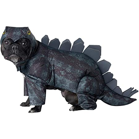 Large CALIFORNIA COSTUME COLLECTIONS PET20168 Stegosaurus Dog Costume