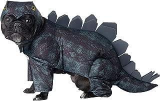 Dark Green_Stegosaurus Dog Costume