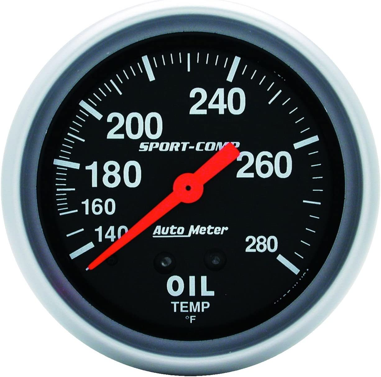 supreme Auto Meter 3443 5 ☆ popular Sport-Comp Temperature Mechanical Gauge Oil