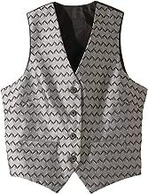 Edwards Ladies' Swirl Brocade Vest Silver XL