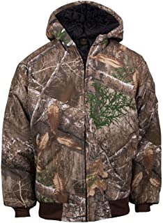 Youth Insulated Hooded Hunting Jacket