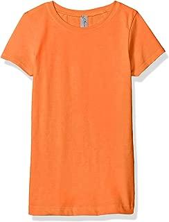 Little Girl Crew Short Sleeve Casual Basic T Shirt Top Tee