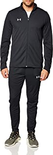 Under Armour Challenger II Knit Warm-Up, Tracksuit with Jacket and Joggers, Complete Sportswear Set Men