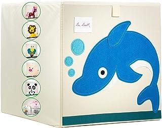 Gai Boom - Coffre a jouet - Boîte à jouets Pliante - Panier Pour Jouets - Enfants Cube de Rangement pour Jouets- ouvert ou...