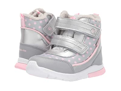 Stride Rite M2P Shay (Toddler) (Silver) Girls Shoes