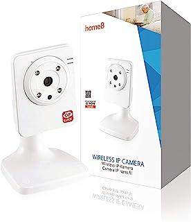 Home8 Smart-Home Draadloze WLAN HD videocamera met automatische infrarood nachtzichtfunctie; met Home8 app bestuurbaar en ...