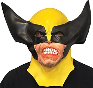 Costume Wolverine Adult Latex Mask One Size
