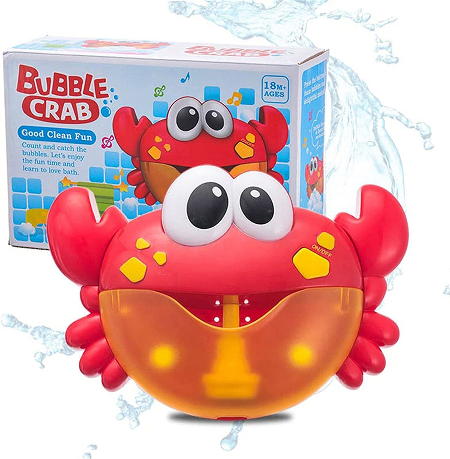 LUBINGT Bubble Machine Limited time sale All items free shipping Outdoor Frog Crabs Music K