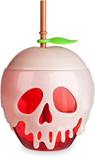 Disney Snow White Poisoned Apple Tumbler with Straw - Oh My Disney MUTLI