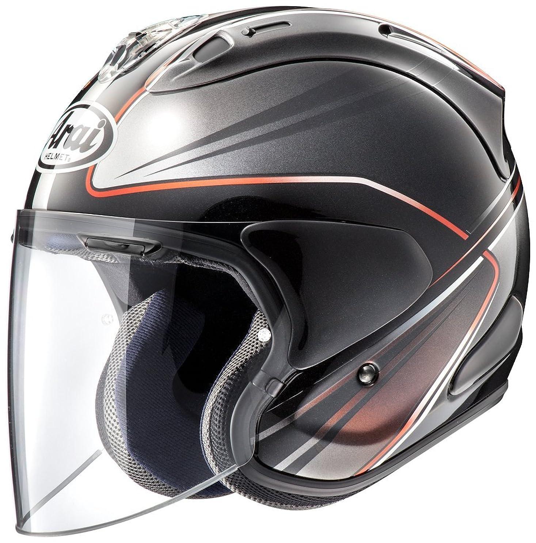 バルブ憤る日付付きアライ (ARAI) ジェットヘルメット VZ-RAM (VZ-ラム) ウエッヂ (WEDGE) ダークグレー 57-58cm VZ-RAM_WEDGE_DGY57