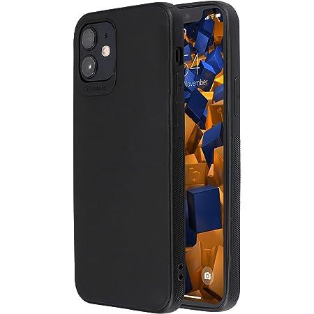 Mumbi Hülle Kompatibel Mit Iphone 12 Iphone 12 Pro Handy Case Handyhülle Schwarz Mit Rotem Streifen Elektronik