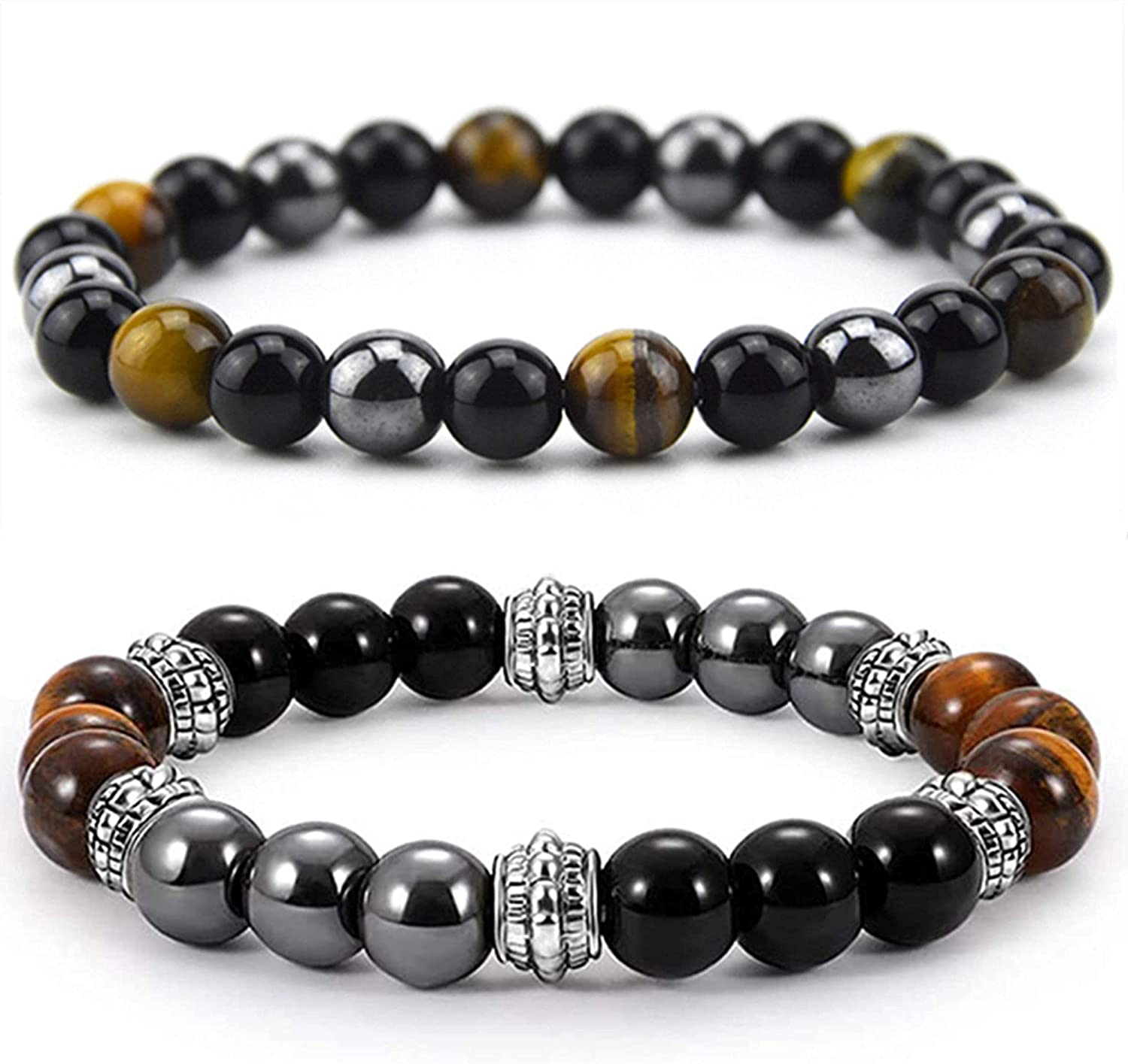 Triple Protection Bracelet Super popular specialty store for Overseas parallel import regular item Bring and Hematit Luck Prosperity