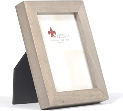 Lawrence Frames 2x3 Gray Wood Gallery Collection Picture Frame, 2.5x3.5