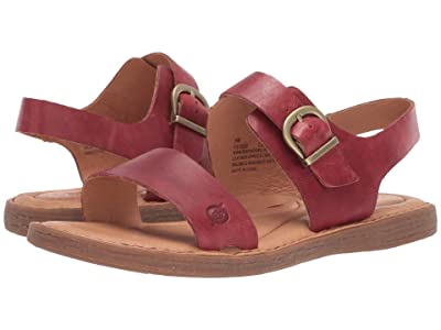 Born Selway (Red Full Grain Leather) Women