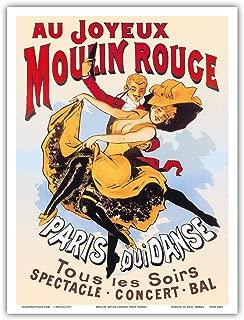 moulin rouge paris poster