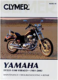 81-2003 YAMAHA XV750: Clymer Service Manual