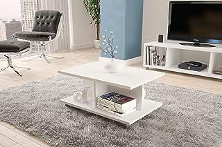 Politorno Center table white 2183, Size: 40 cm*90 cm* 60 cm