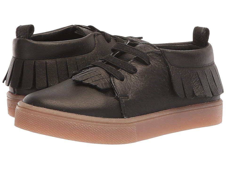 Freshly Picked Sneaker Mocc (Toddler/Little Kid) (Black) Kid