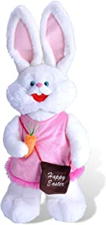Wild Republic Bunny Plush, Stuffed Animal, Plush Toy, Easter Toys, Easter Bunny Standing Plush, 24""