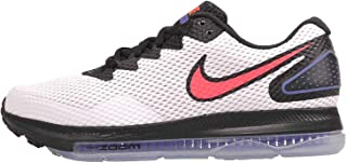 Nike Women's Zoom All Out Low Running Shoes, White/Solar Red-Black, Size 9.0