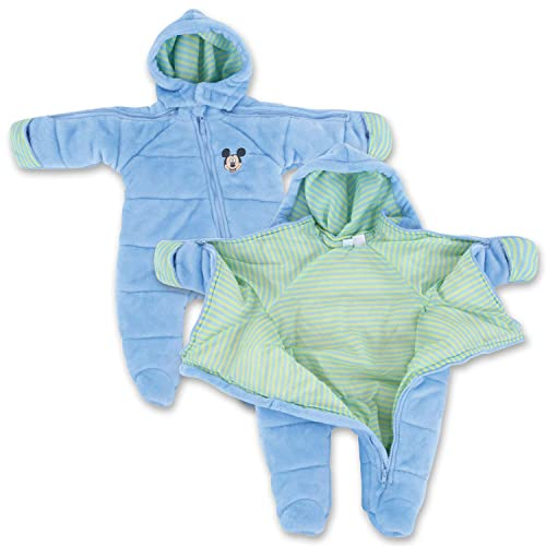 27a3f9cb2 Infant Boy EZ Off Full Zip Hooded Warm Jacket - Great for Sleeping Children  - Perfect