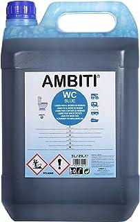 Ambiti Blue 5 L. aditivo para aguas negras, depósito de