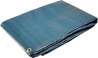 8x 14Metre Rectangular Swimming Pool Cover with Central Drain MeshWaterproof Tarpaulin