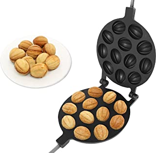 Oreshek Moule à biscuits en noyer anti-adhésif 12 noix