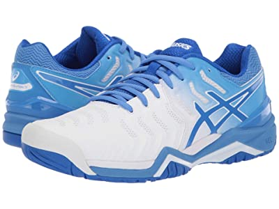 ASICS Gel-Resolution 7 (White/Blue Coast) Women