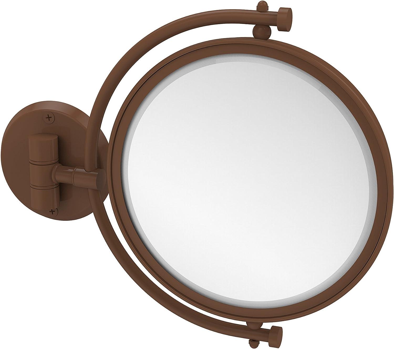 Allied Brass WM-4 5X-ABZ 8-Inch Mirror with 5X Magnification Extends 7-Inch, Antique Bronze