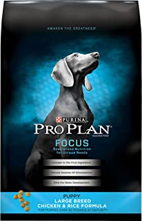 Pro Plan Large Breed Dry Puppy Food, Chicken 15.4kg Bag