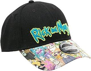 28f25d0c54049 Rick   Morty Baseball Cap Sublimated Print Curved Bill Bioworld Berretti