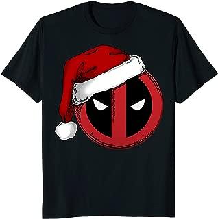 Deadpool Icon Santa Hat Christmas Graphic T-Shirt