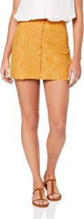 THIRD FORM Women's Fields Mini Skirt, Honey