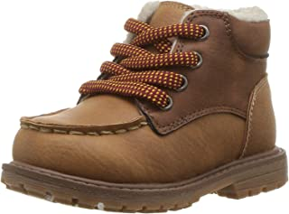 OshKosh B'Gosh Kids Crowes Boy's Lace Up Sherpa Boot Fashion