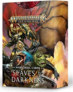 Warhammer Age of Sigmar Slaves to Darkness Warscroll Cards