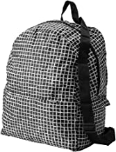 Ikea Knalla backpack, Black/white Folds into itself