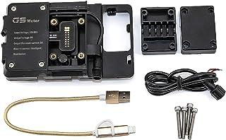 CSMDELAY Motorfiets Standhouder Telefoon Mobiele Telefoon GPS Navigatieplaat Beugel voor Ho*n*da NC750X 2016-2019 hncsm (C...
