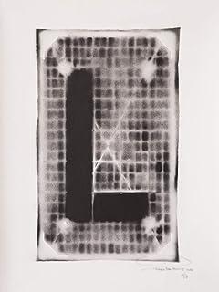 Letra L ABC Hort por Fabio De Minicis - Lienzo original 1/7-50 x 70 cm.