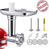 Metal Food Grinder Attachments for KitchenAid Stand Mixers