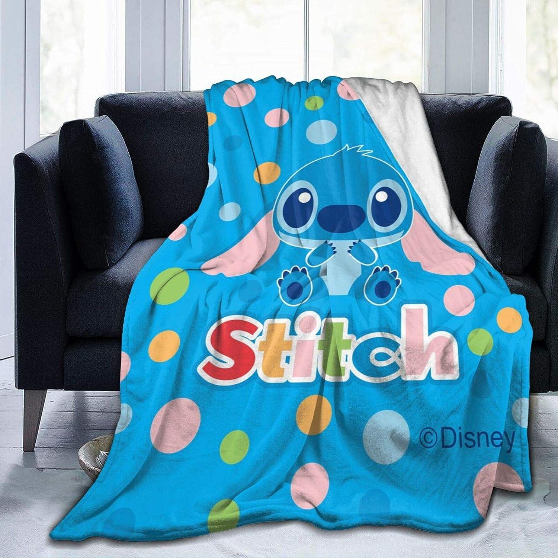 40 X 50 Inch UNOREM Lilo /& Stitch Baby Blankets for Girls Lightweight Cozy Ultra Soft Fuzzy Luxury Flannel Throw Blankets for Bedding Twin Size