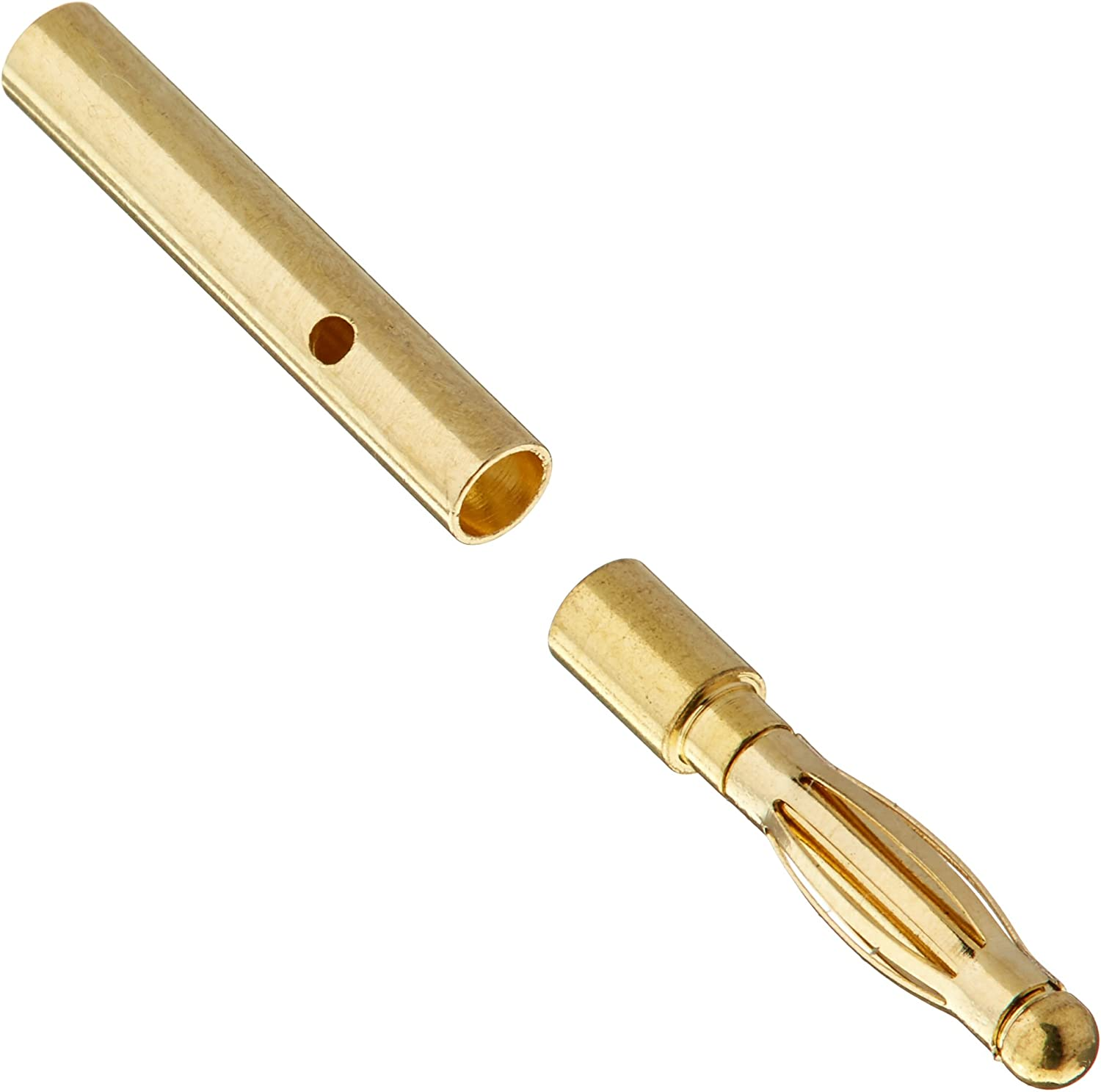 DYN DYNC0086 gold Bullet Connector Set 2mm (10) RC Vehicle Parts