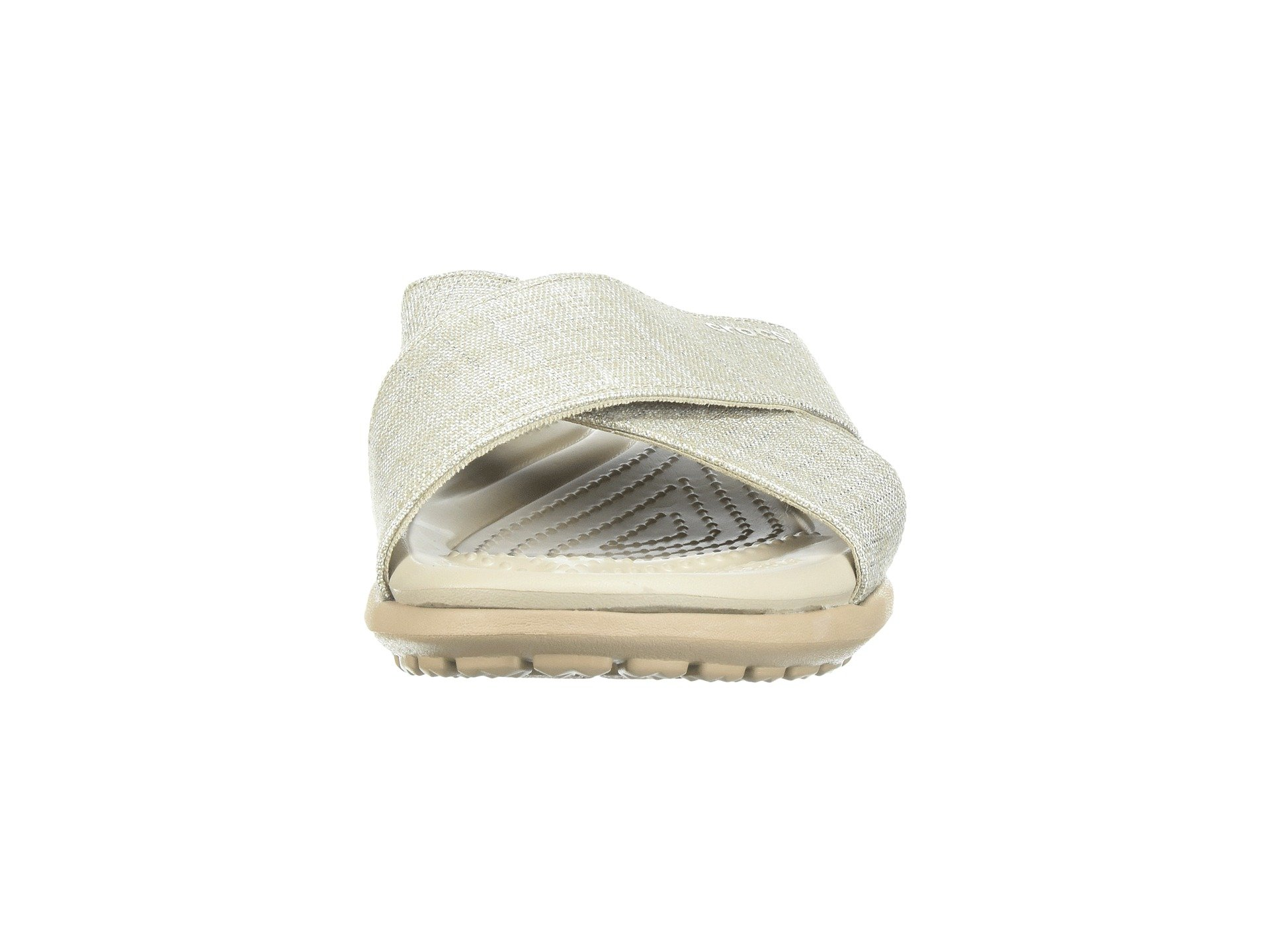 cobblestone Shimmer Xband Oyster Crocs Capri qU7wW5fT