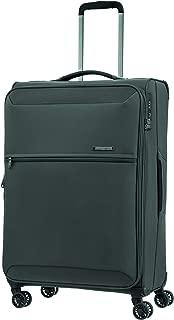 Samsonite 92327 72 Hours DLX Spinner Expandable Suitcase, Platinum Grey, 71 Centimeters