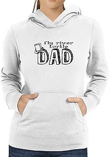 Eddany Fly River Turtle dad Women Hoodie