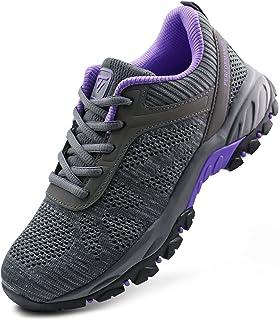 أحذية JABASIC النسائية للمشي في الهواء الطلق متماسكة أحذية رياضية