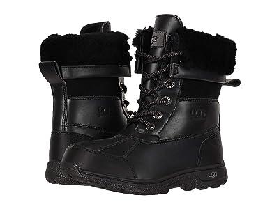 UGG Kids Butte II CWR (Toddler/Little Kid/Big Kid) (Black) Kids Shoes